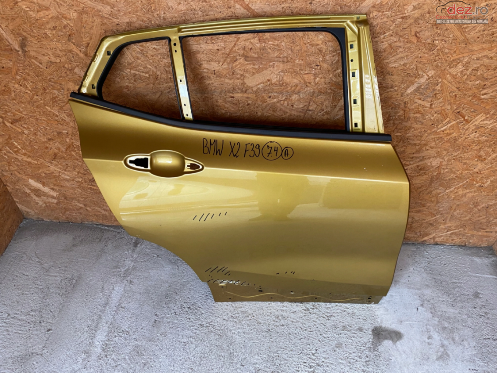 Usa Spate Dreapta Bmw X2 F39 2017 Piese auto în Zalau, Salaj Dezmembrari