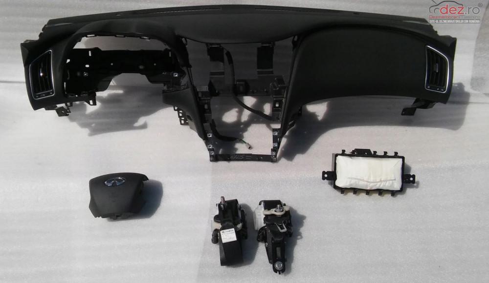 Kit Plansa Bord Cu Airbag Infiniti Q50 Piese auto în Zalau, Salaj Dezmembrari