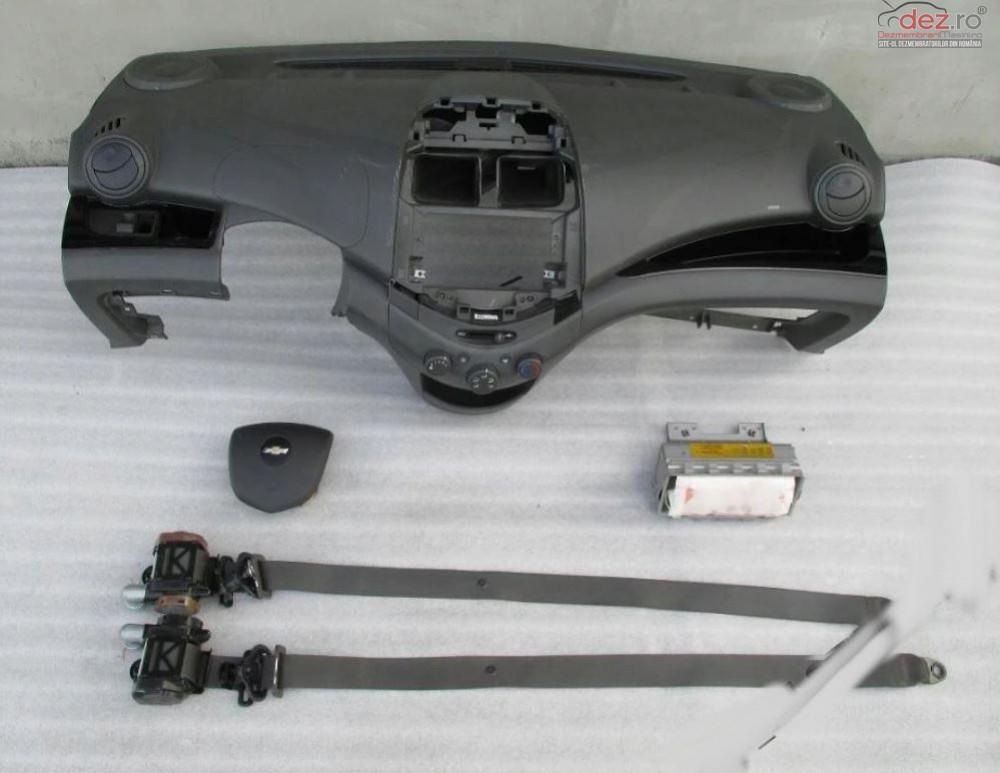 Kit Plansa Bord Cu Airbag Chevrolet Spark Piese auto în Zalau, Salaj Dezmembrari