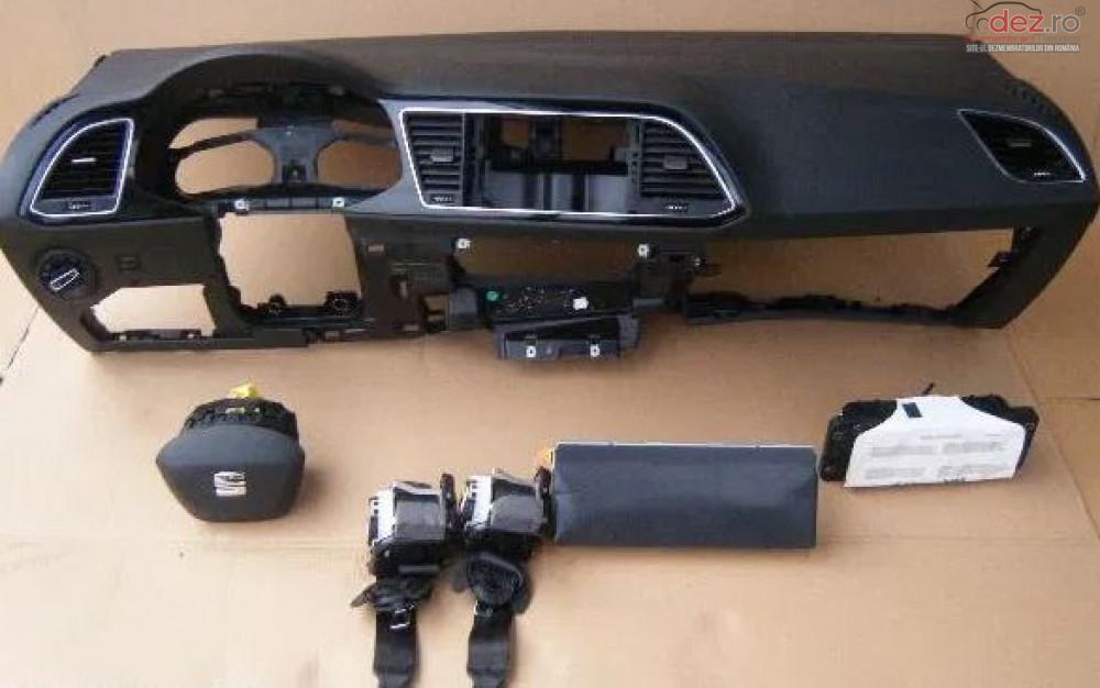 Kit Plansa De Bord Cu Airbag Seat Leon Piese auto în Zalau, Salaj Dezmembrari