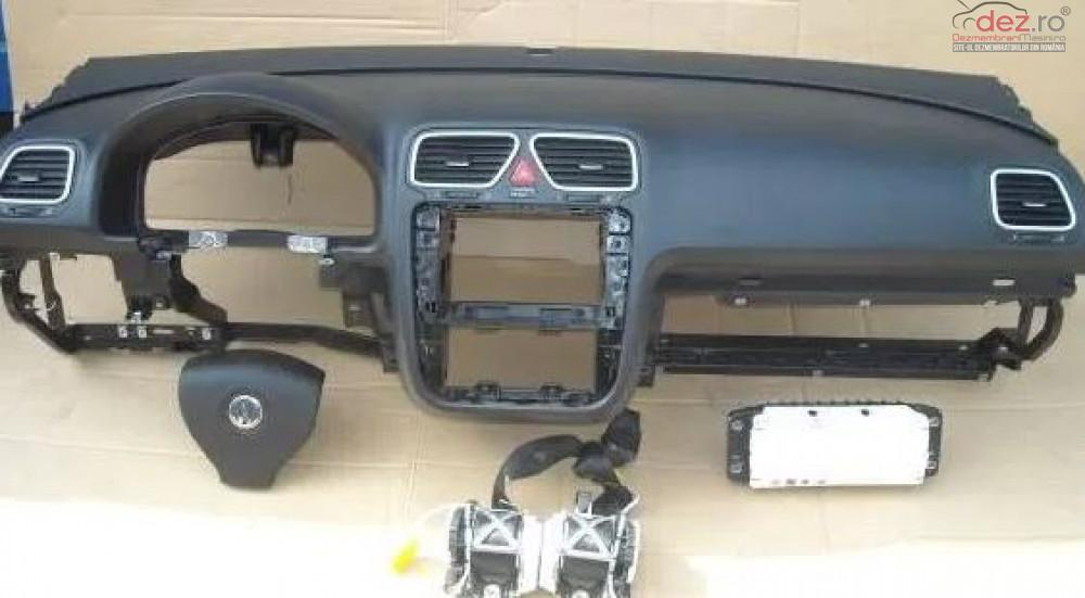 Kit Plansa Bord Cu Airbag Volkswagen Eos Piese auto în Zalau, Salaj Dezmembrari