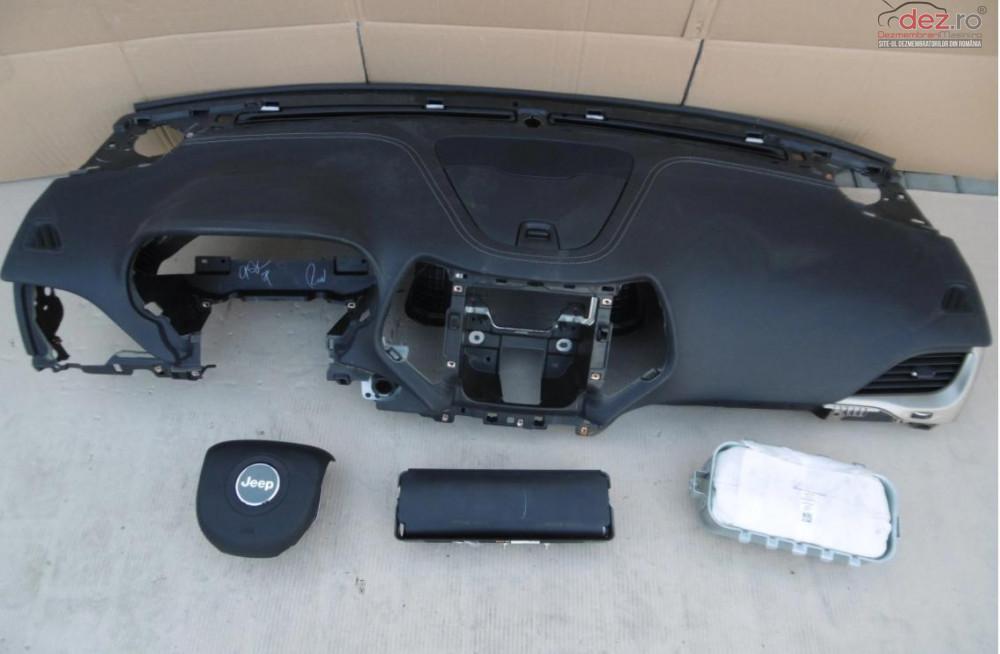 Kit Plansa Bord Airbag Jeep Cherokee 2015 Piese auto în Zalau, Salaj Dezmembrari