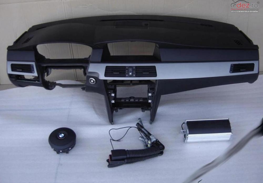 Kit Plansa Bord Airbag Bmw 5 Lift E 60 2013 Piese auto în Zalau, Salaj Dezmembrari