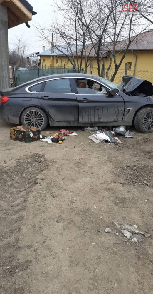 Vand BMW 430 Gran Coupe D din 2015, avariat in fata