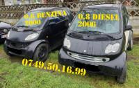 Dezmembrari Smart Fortwo Diesel Cdi Si Benzina Coupe Cabrio Dezmembrări auto în Oltenita, Calarasi Dezmembrari