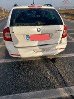 Vand Skoda Octavia facelift 2 din 2013, avariat in fata, spate Mașini avariate în Bacau, Bacau Dezmembrari