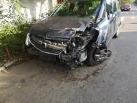 Vand Opel Zafira din 2007, avariat in fata, lateral(e) Mașini avariate în Bucuresti, Bucuresti Dezmembrari
