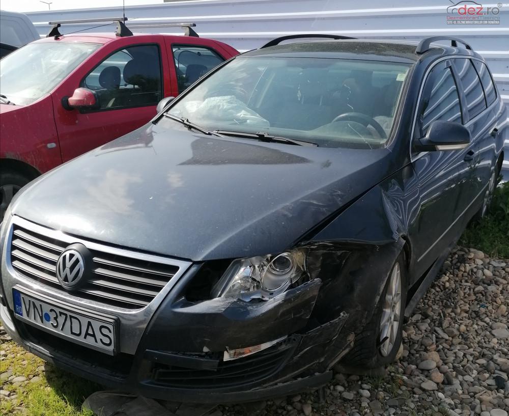 Vand Volkswagen Passat Break din 2007, avariat in lateral(e)