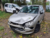Dezmembrez Peugeot 206 1.4 HDI hatchback din 2005 Dezmembrări auto în Roman, Neamt Dezmembrari