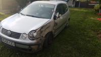 Vand Volkswagen Polo da din 2002, avariat in lateral(e) Mașini avariate în Timisoara, Timis Dezmembrari