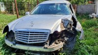 Vand Mercedes S 300 Auto funerara din 2009, avariat in lateral(e) Mașini avariate în Barlad, Vaslui Dezmembrari
