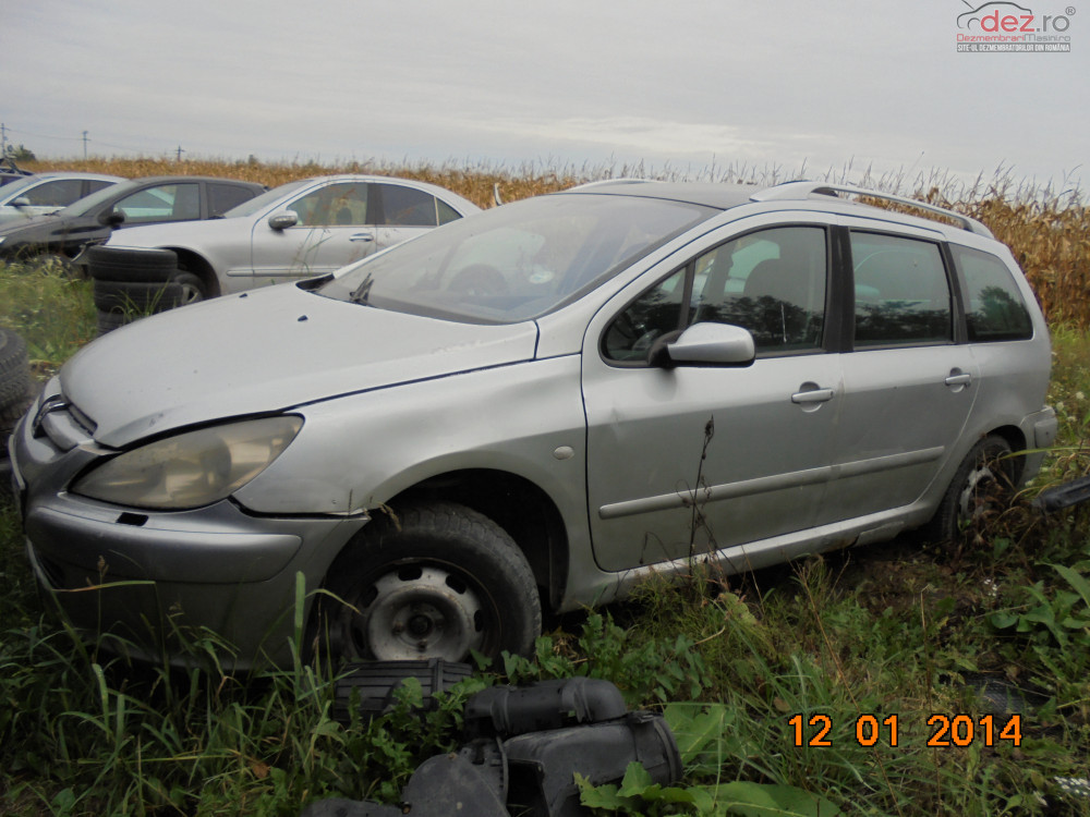 Dezmembrez Peugeot 307 Sw 2 0 Diesel 2003