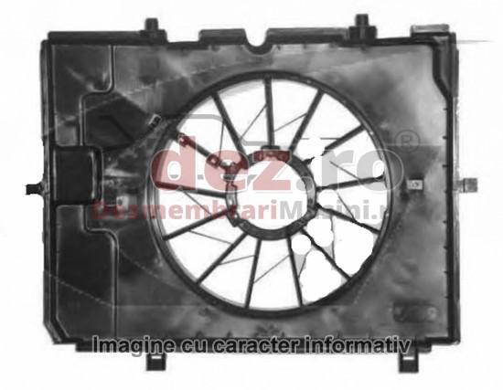 Carcasa ventilator radiator Volkswagen Golf 2013 cod 5Q0959455BC  în Bucuresti, Bucuresti Dezmembrari
