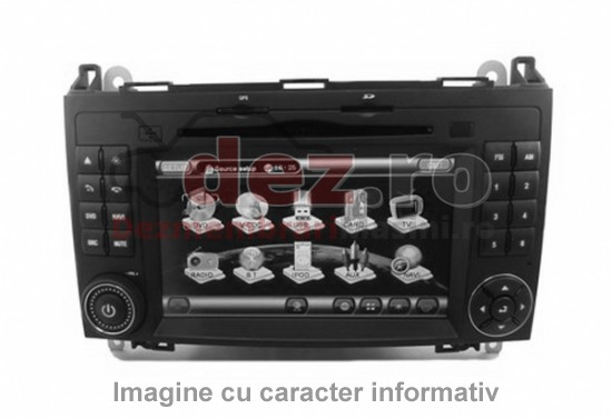 Sistem audio Ford Focus C-Max  cod 3M5T-18C815-BE