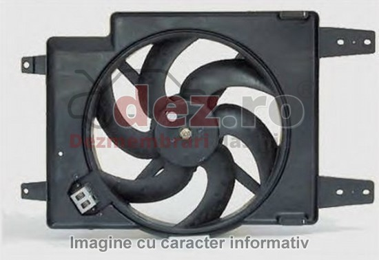 Ventilator radiator Mercedes C 270 w203 2002