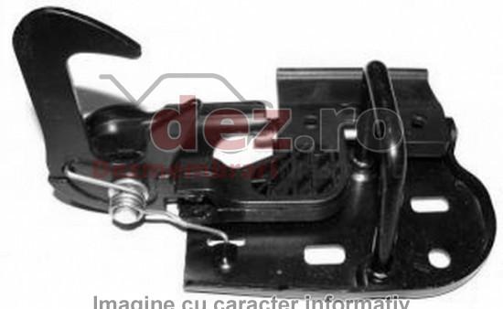 Incuietoare capota fata Volkswagen Polo hatchback (2012) Piese auto în Roman, Neamt Dezmembrari